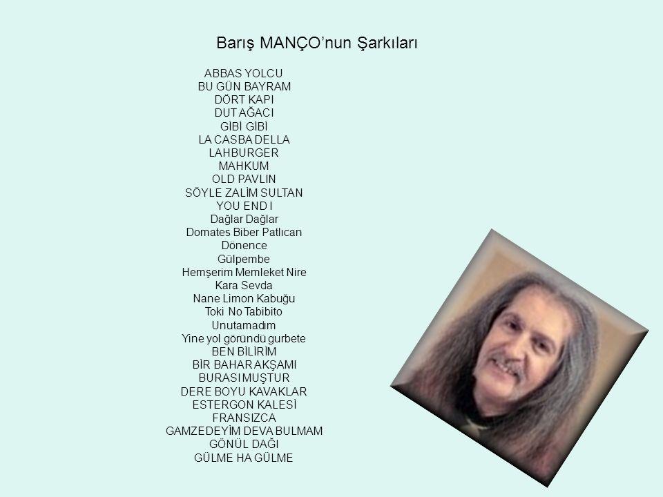 Barış MANÇO'nun Şarkıları