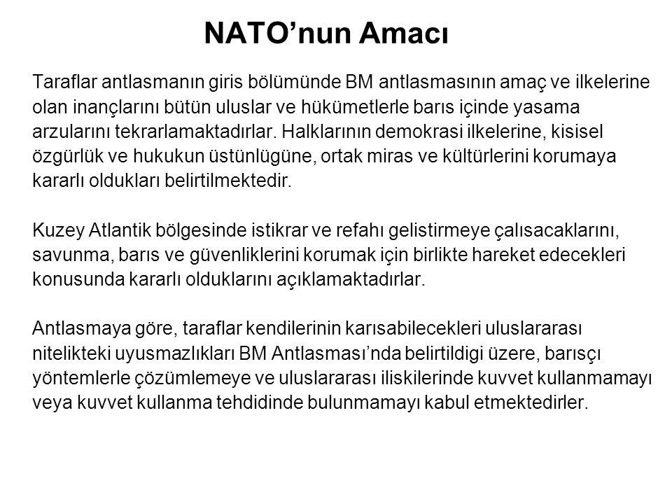 NATO'nun Amacı