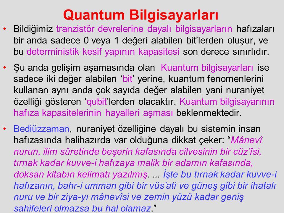Quantum Bilgisayarları