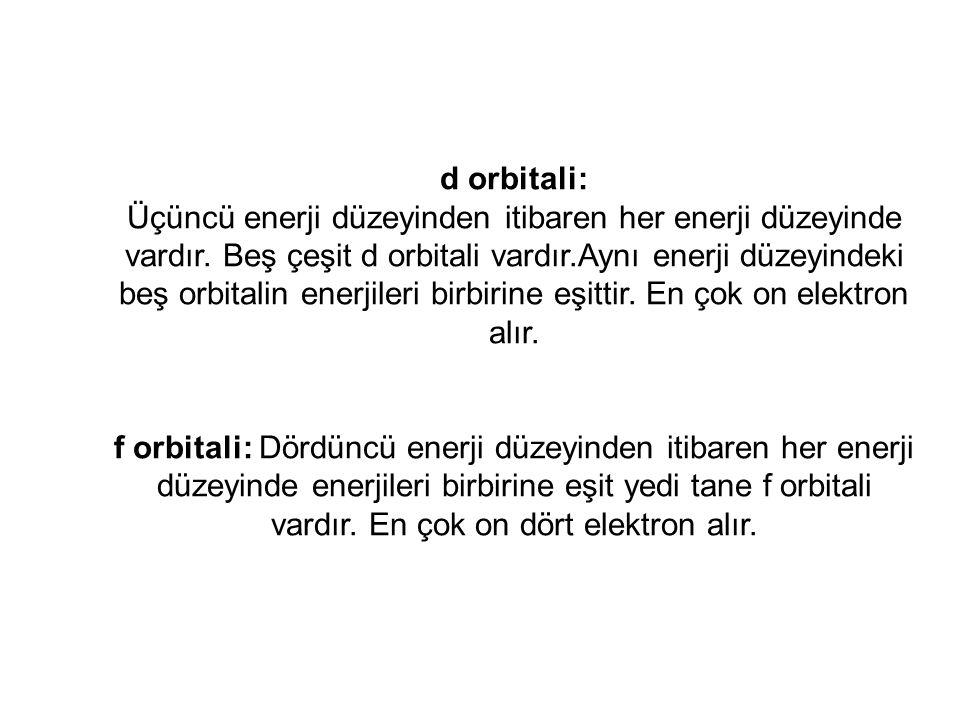 d orbitali: