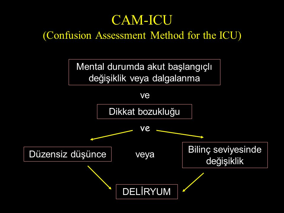 CAM-ICU (Confusion Assessment Method for the ICU)
