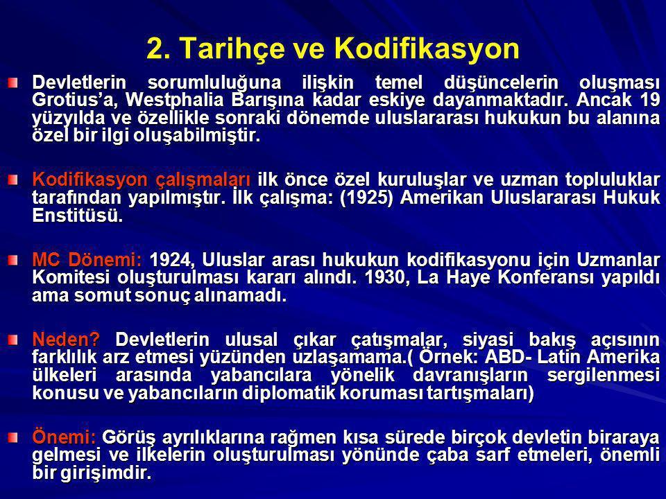 2. Tarihçe ve Kodifikasyon