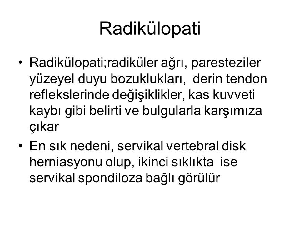 Radikülopati