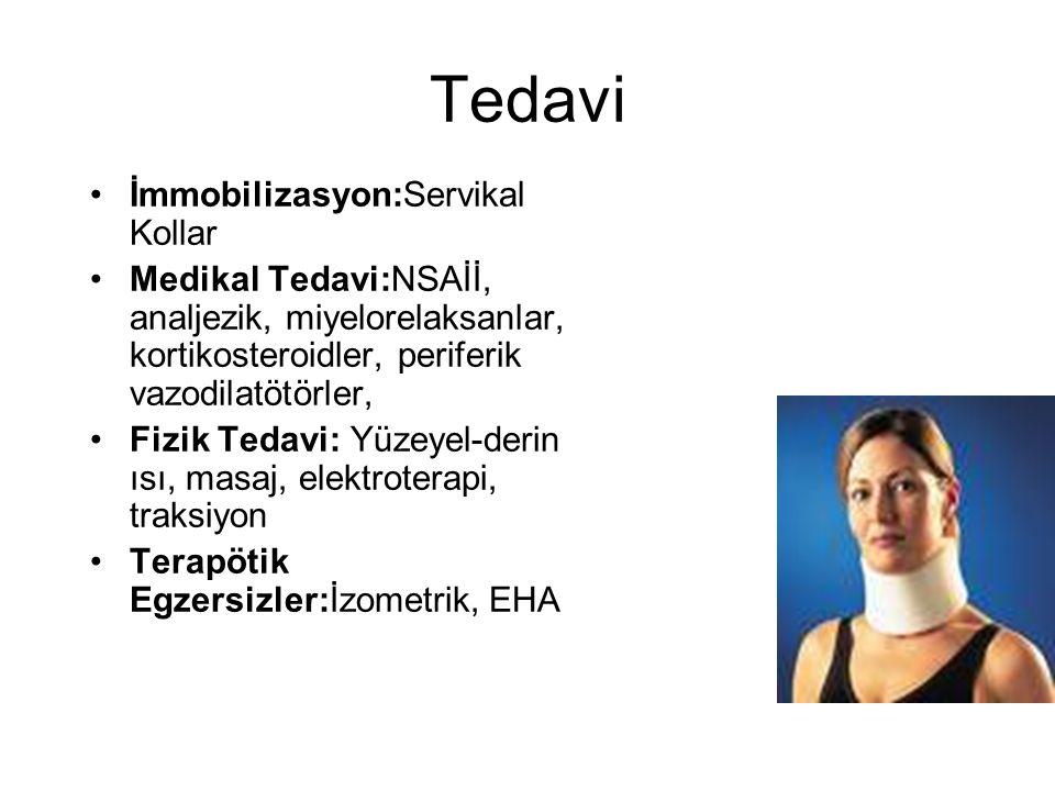 Tedavi İmmobilizasyon:Servikal Kollar