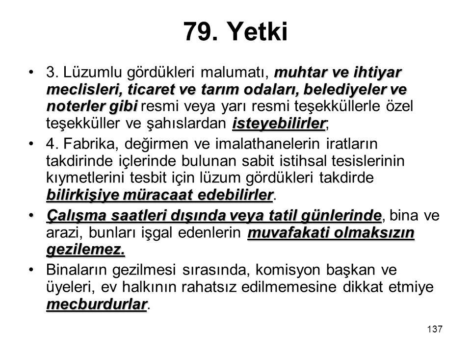 79. Yetki