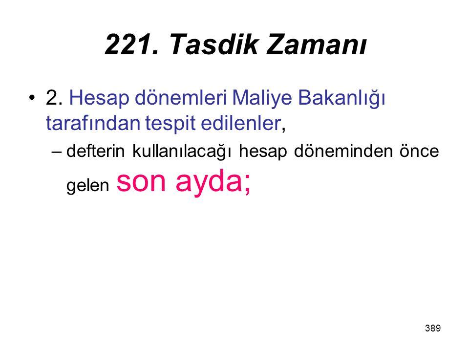 221. Tasdik Zamanı 2.
