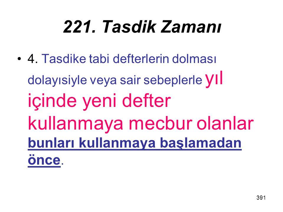221. Tasdik Zamanı
