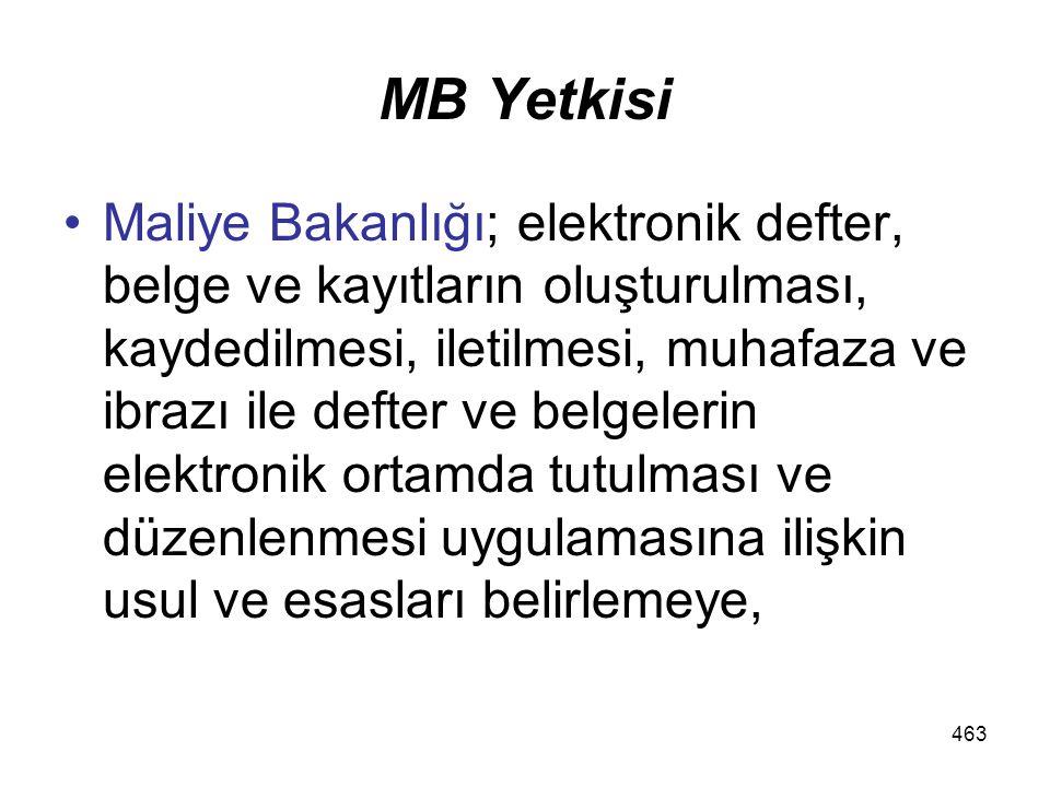 MB Yetkisi
