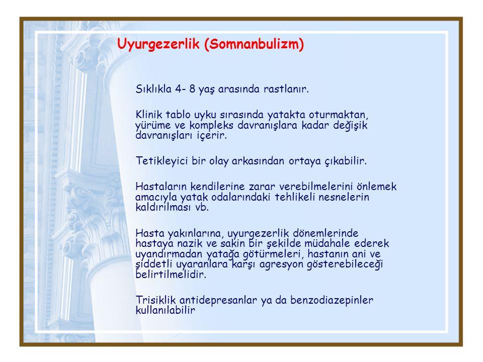 Uyurgezerlik (Somnanbulizm)