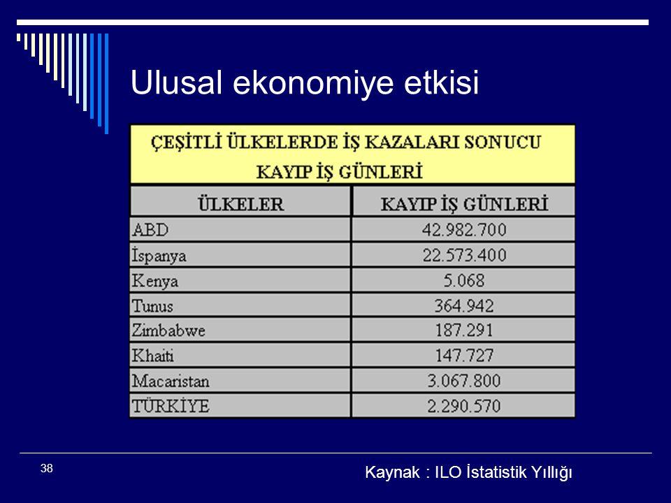 Ulusal ekonomiye etkisi