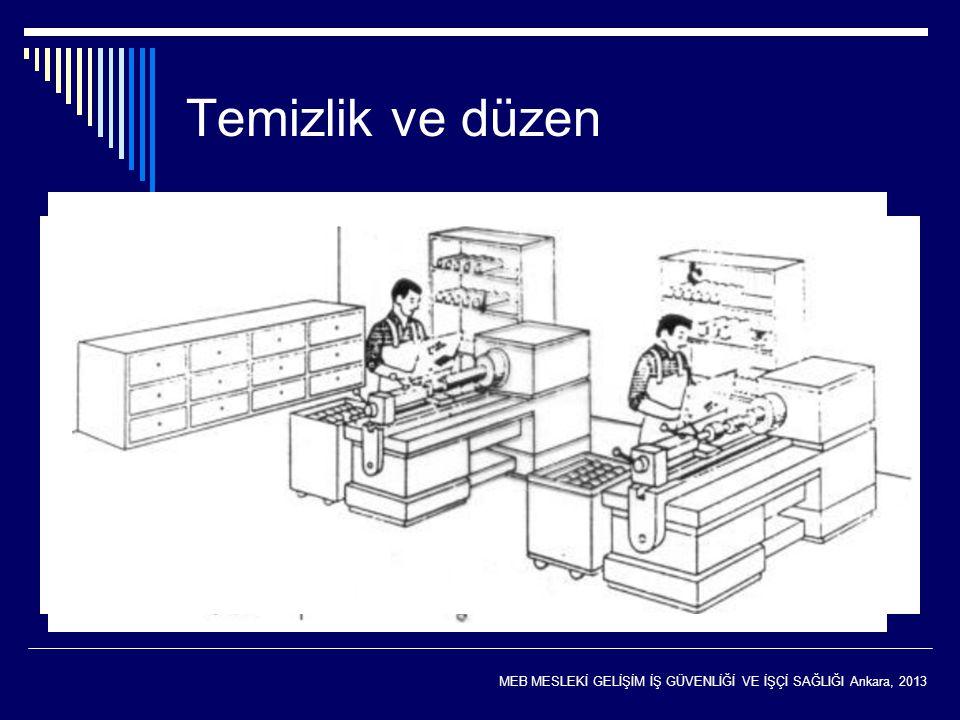 Temizlik ve düzen Temizlik ve düzen