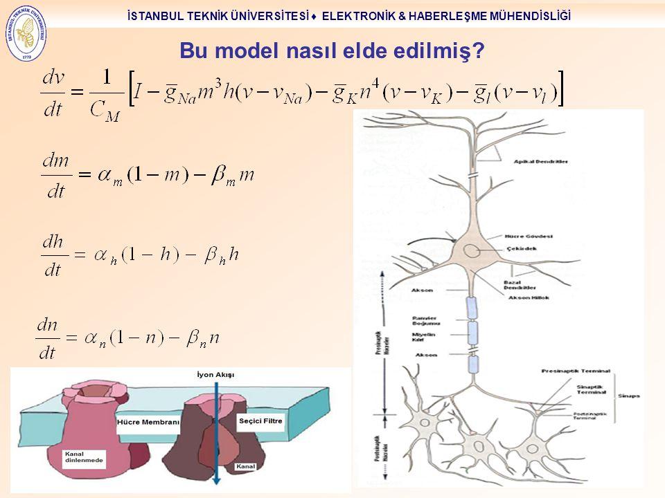 Bu model nasıl elde edilmiş