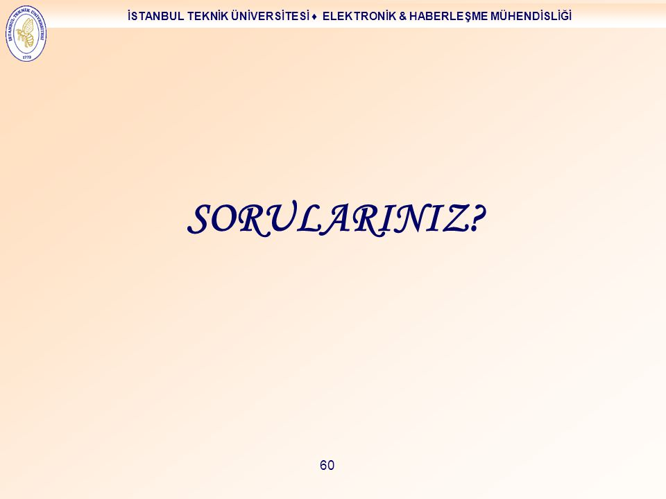 SORULARINIZ