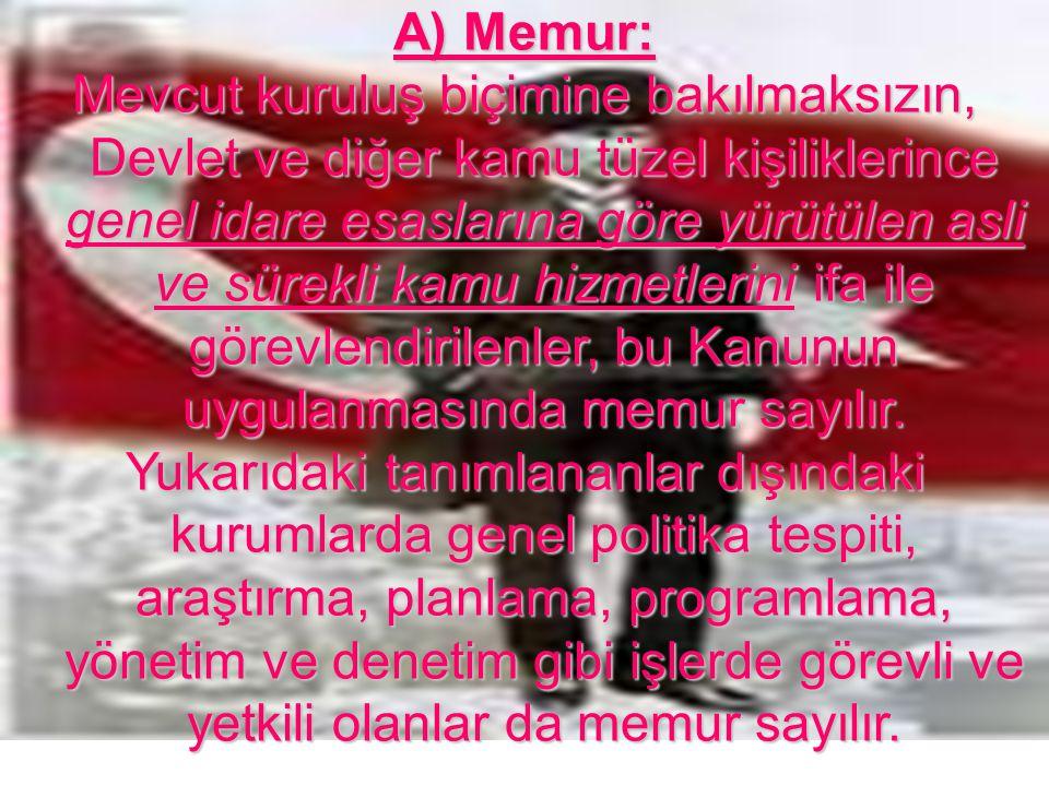 A) Memur: