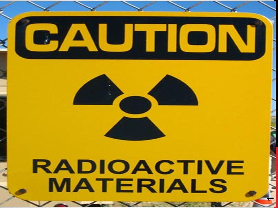 radyoaktif atIk -Nükleer Atık -Ölümcül -Kullanım değeri TASIMAYAN!