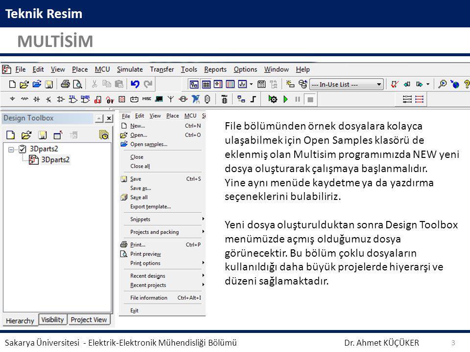 Teknik Resim MULTİSİM.