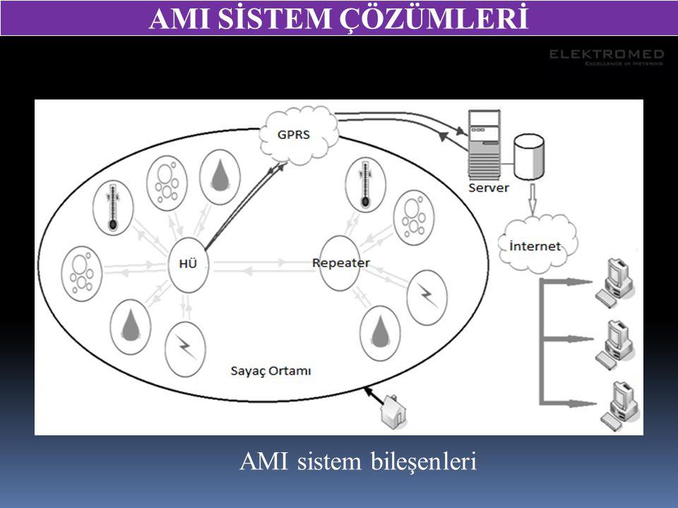 AMI SİSTEM ÇÖZÜMLERİ AMI sistem bileşenleri