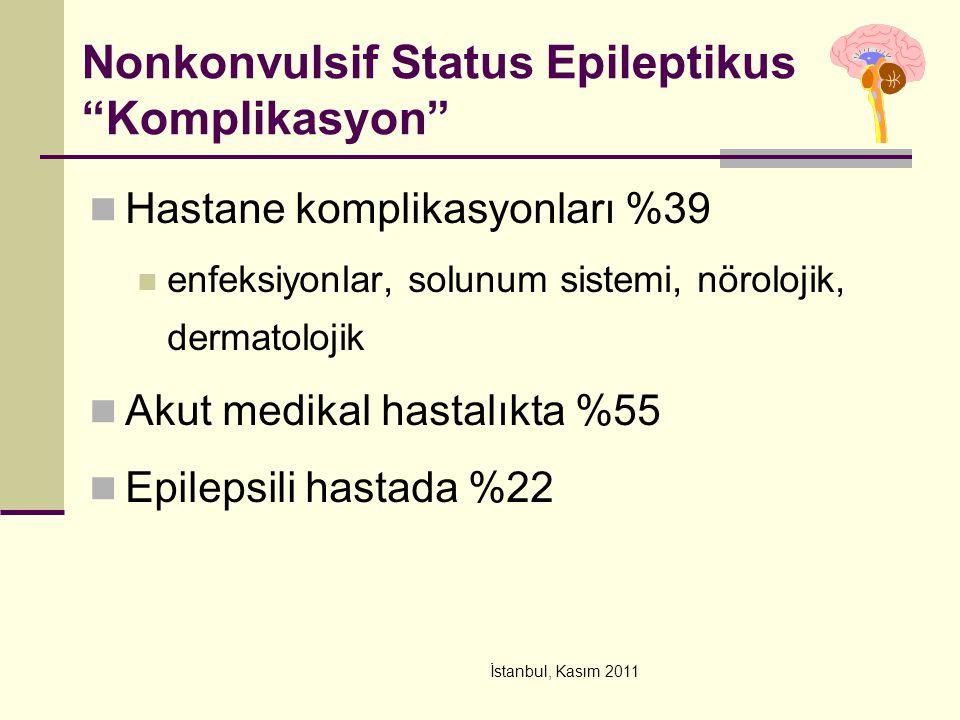 Nonkonvulsif Status Epileptikus Komplikasyon