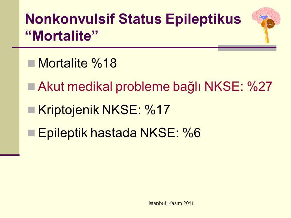 Nonkonvulsif Status Epileptikus Mortalite