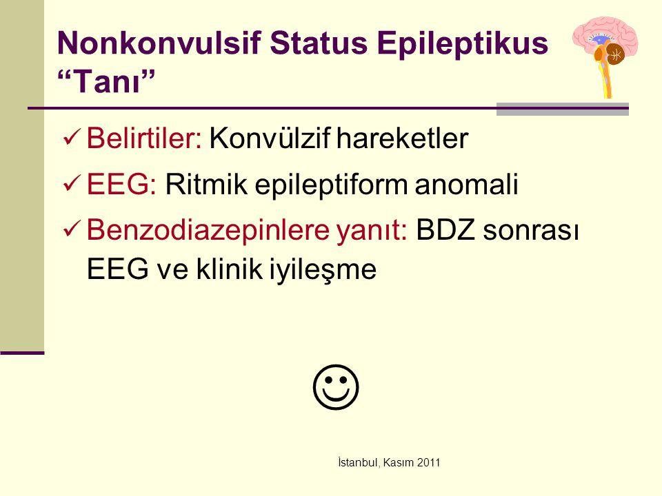 Nonkonvulsif Status Epileptikus Tanı
