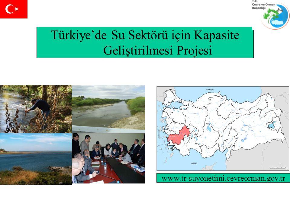 Türkiye'de Su Sektörü için Kapasite Geliştirilmesi Projesi