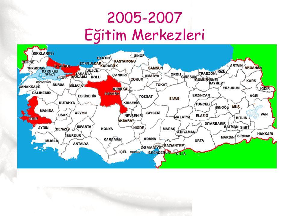 2005-2007 Eğitim Merkezleri