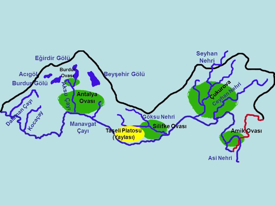 Taşeli Platosu (Yaylası)
