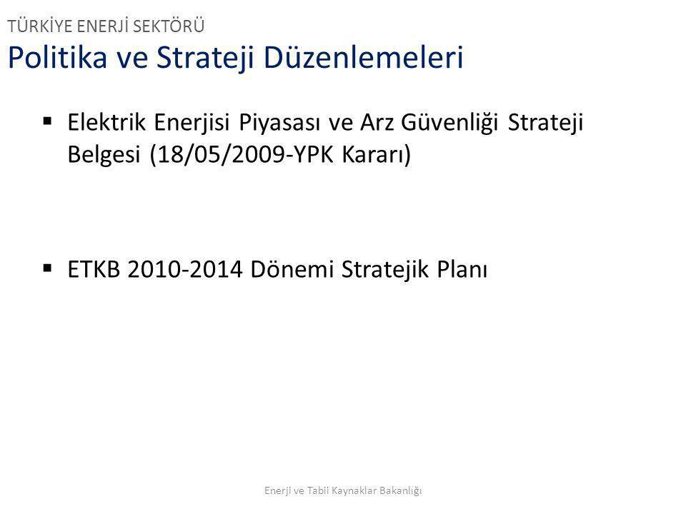 Politika ve Strateji Düzenlemeleri