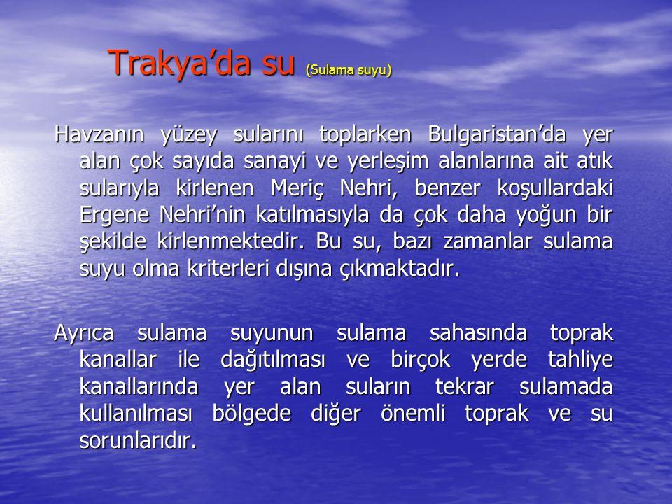 Trakya'da su (Sulama suyu)