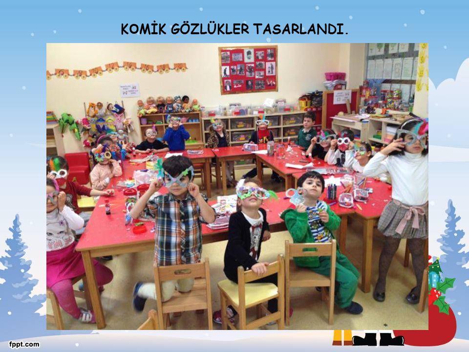 KOMİK GÖZLÜKLER TASARLANDI.
