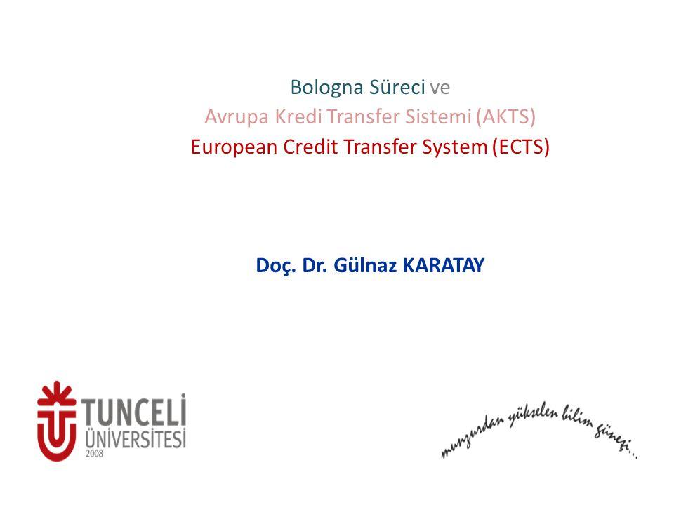 Avrupa Kredi Transfer Sistemi (AKTS)