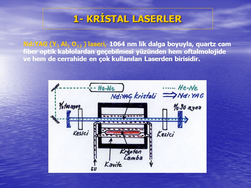 1- KRİSTAL LASERLER