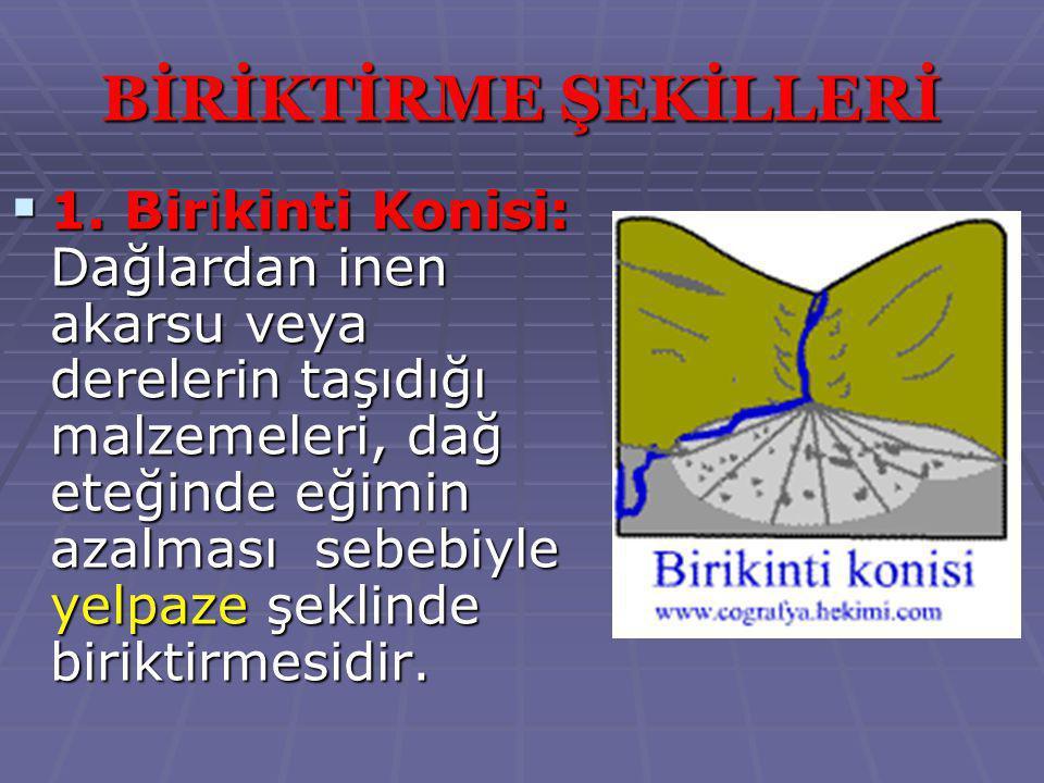 BİRİKTİRME ŞEKİLLERİ