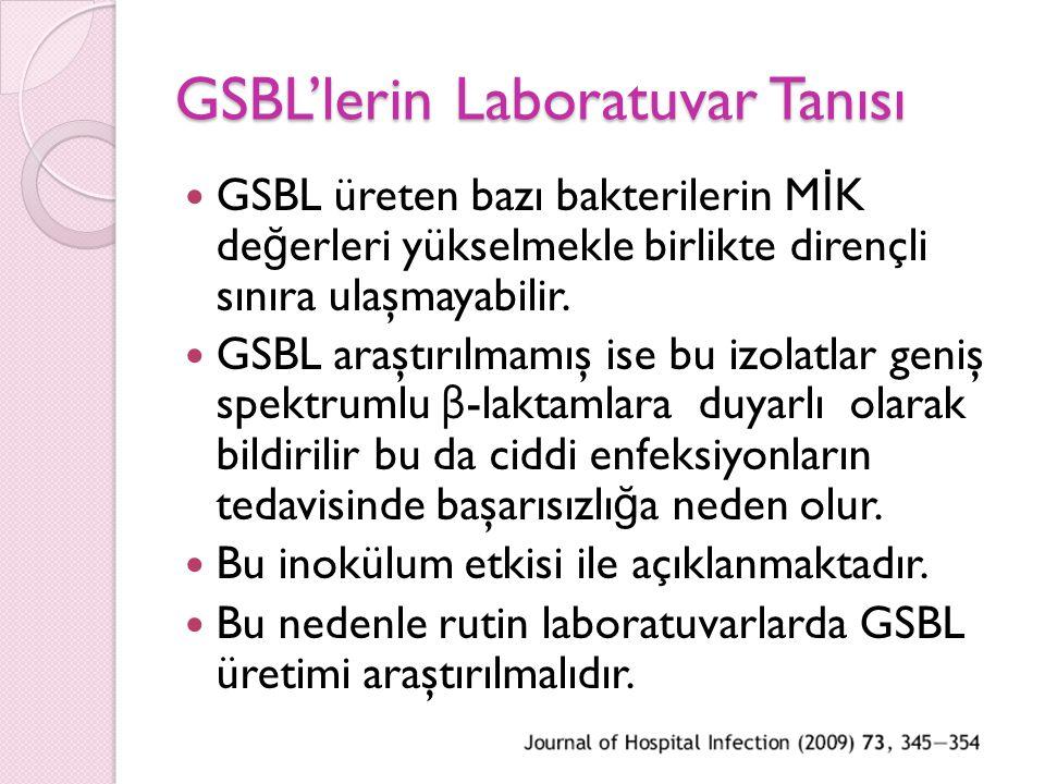GSBL'lerin Laboratuvar Tanısı