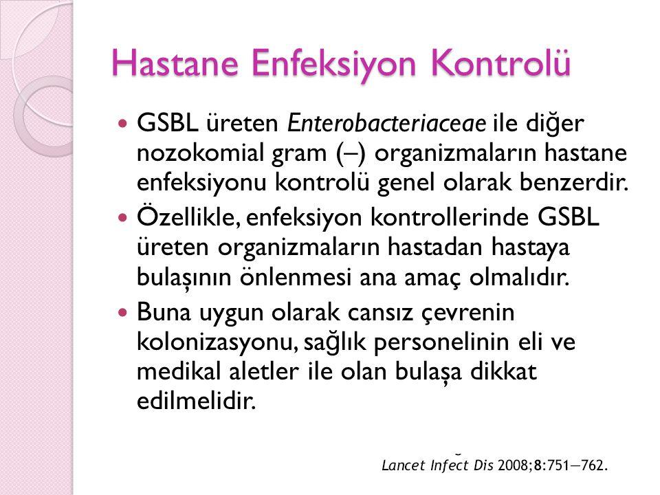 Hastane Enfeksiyon Kontrolü