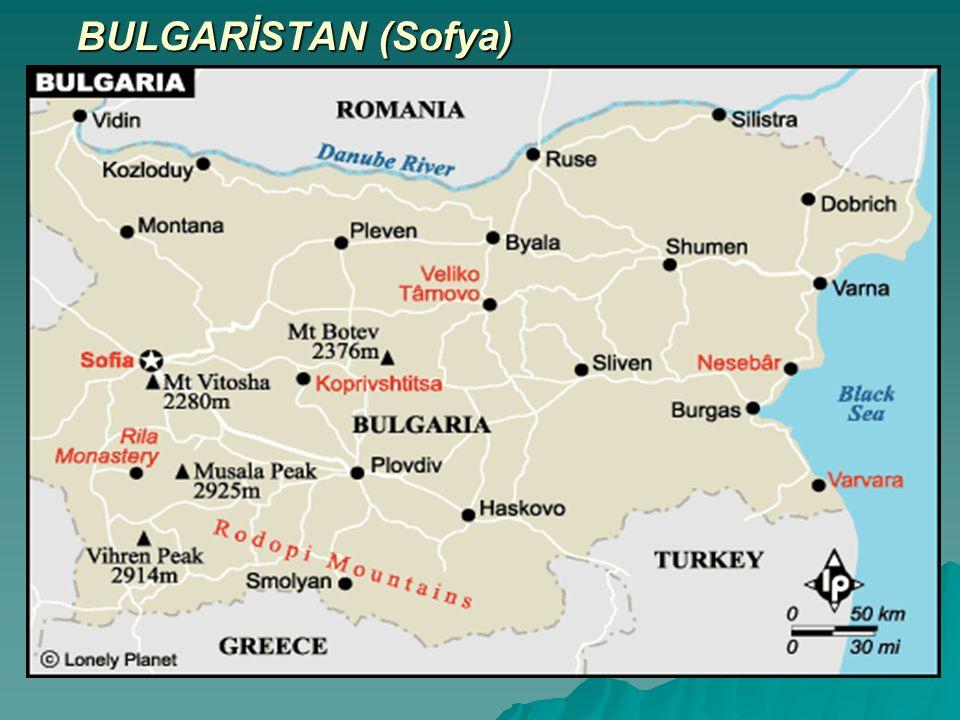 BULGARİSTAN (Sofya)