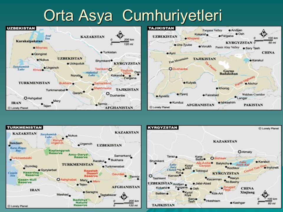 Orta Asya Cumhuriyetleri