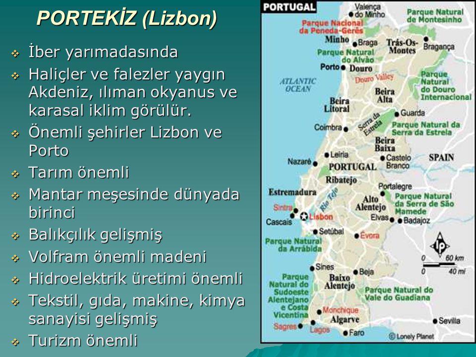 PORTEKİZ (Lizbon) İber yarımadasında