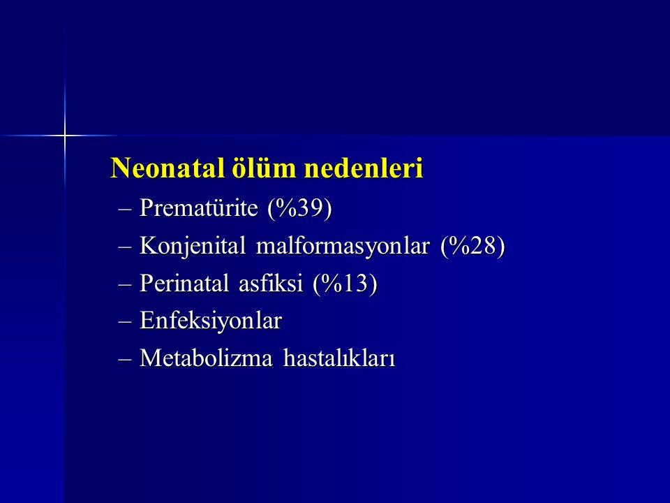 Neonatal ölüm nedenleri