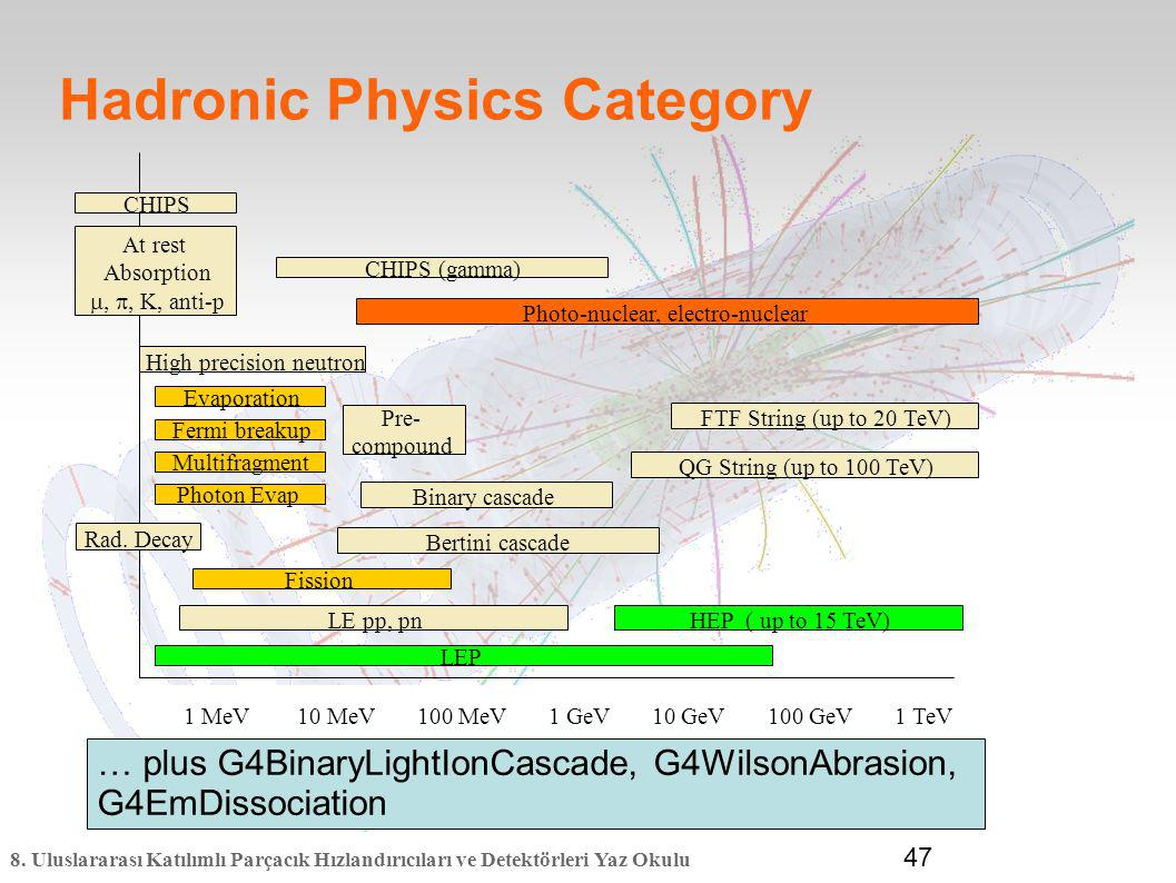 Hadronic Physics Category