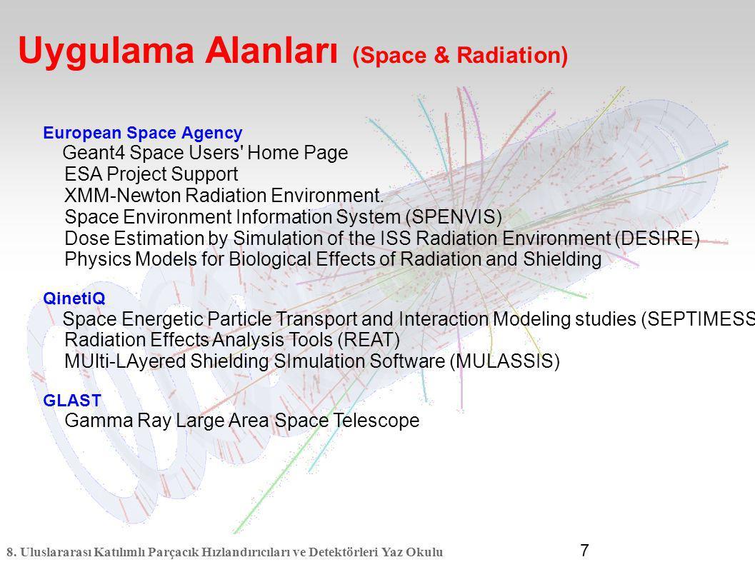 Uygulama Alanları (Space & Radiation)