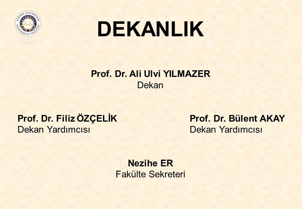Prof. Dr. Ali Ulvi YILMAZER