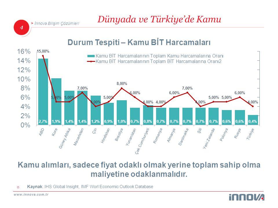 Dünyada ve Türkiye'de Kamu