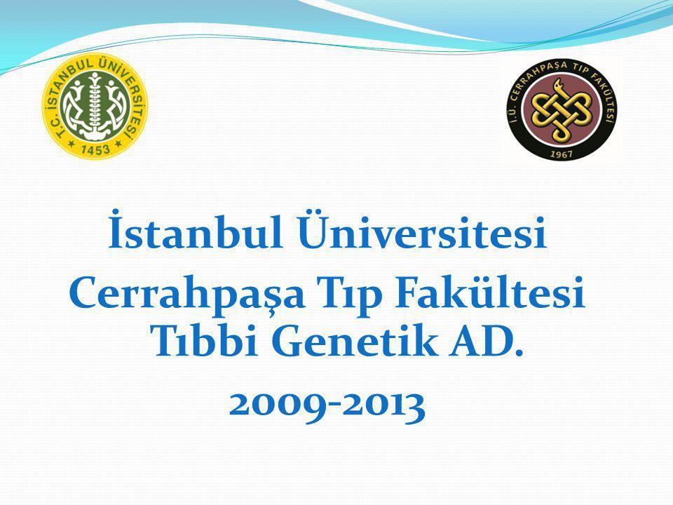 İstanbul Üniversitesi Cerrahpaşa Tıp Fakültesi Tıbbi Genetik AD