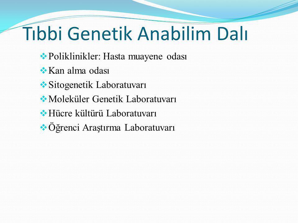 Tıbbi Genetik Anabilim Dalı