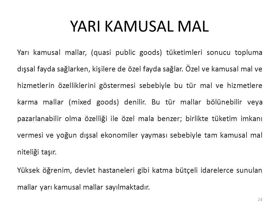 YARI KAMUSAL MAL