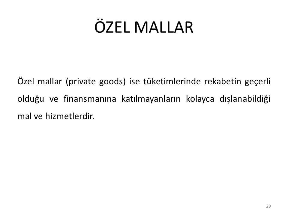 ÖZEL MALLAR