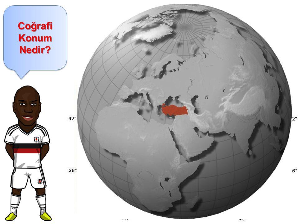 Coğrafi Konum Nedir Coğrafi Konum: Dünya üzerindeki bir yerin diğer yerlere göre bulunduğu konumdur.