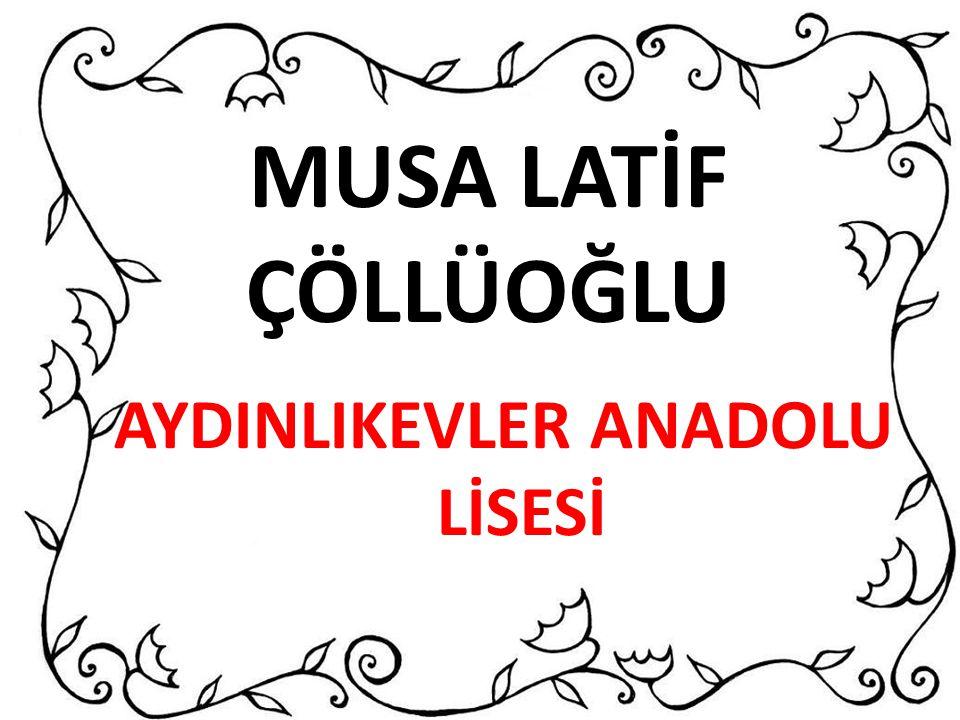 AYDINLIKEVLER ANADOLU LİSESİ