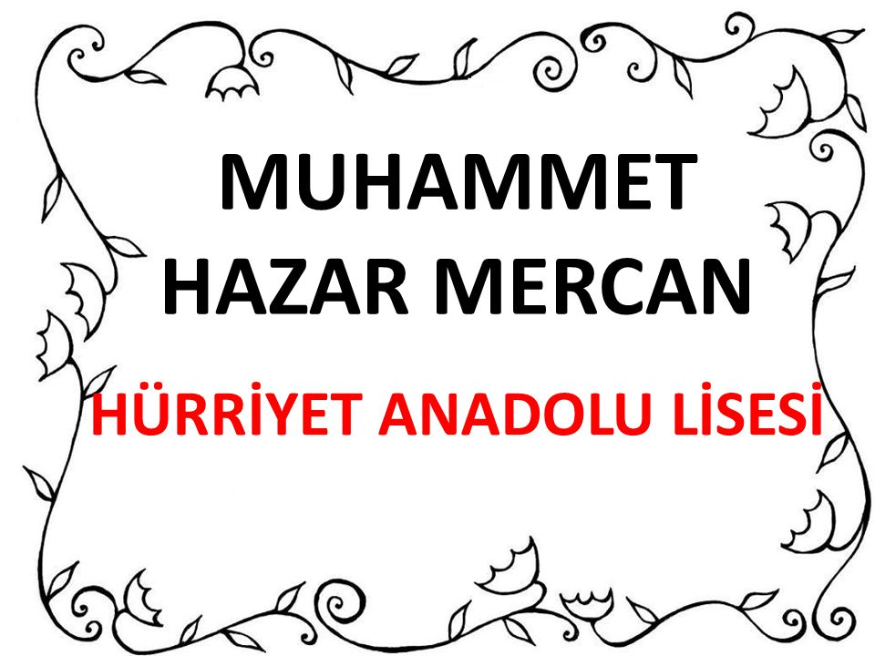 HÜRRİYET ANADOLU LİSESİ